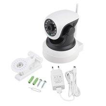 Беспроводной wifi домашний монитор камера панорамирование HD 1080P Сеть безопасности CCTV IP камера ИК ночного видения видео рекордер