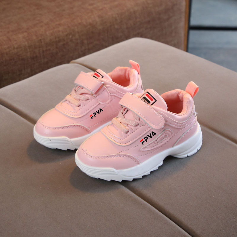 European Infant Tennis 2020 Cute Baby Girls Boys Shoes Fashion Lovely Sports Running Baby Sneakers Cool Baby Casual Shoes