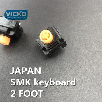 [VK] JAPAN SMK original New genuine imported  keyboard switch button touch ORANGE 2 foot reset keyboard switch SMK 2 FEET