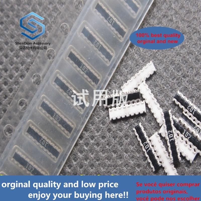 20ppcs 100% Orginal New Patch Exclusion 0603X8 16P8R 1K Ohm 1K Printed 102 CN1J8TE102J