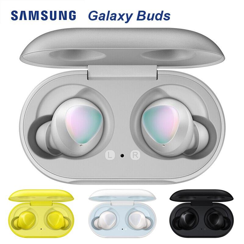 Samsung Galaxy Knospen Wireless Headset Widersteht wasser Sport Kopfhörer für Samsung S10 iPhone mit Premium Sound Glow Silber Farbe-in Handy-Ohrhörer und Kopfhörer aus Verbraucherelektronik bei title=