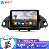 EKIY 9'' 2Din Android 8.1 Car Radio For Ford Kuga 2013 2017 Car Multimedia Video Player Gps Radio Navigation 2din Dvd Player