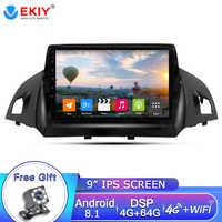 EKIY 9'' 2Din Android 8.1 Car Radio For Ford Kuga 2013-2017 Car Multimedia Video Player Gps Radio Navigation 2din Dvd Player