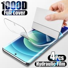4PCS Hydrogel Film Screen Protector Für Samsung Galaxy S10 S10E Hinweis 20 10 Plus S20 FE S21 Ultra A50 a51 A52 Screen Protector