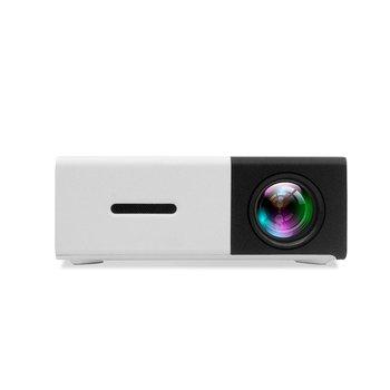 YG300 Mini Portable Projector LCD LED Proyector HDMI USB AV SD 400-600 Lumen Home Theater Children Education Beamer HD Projetor