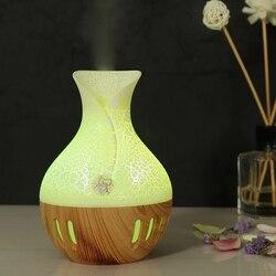 Usb mininawilżacz powietrza elektryczne Aroma dyfuzor aromaterapia OLEJEK ETERYCZNY fajne Mist Maker 7 kolor dla biuro w domu w Nawilżacze powietrza od AGD na