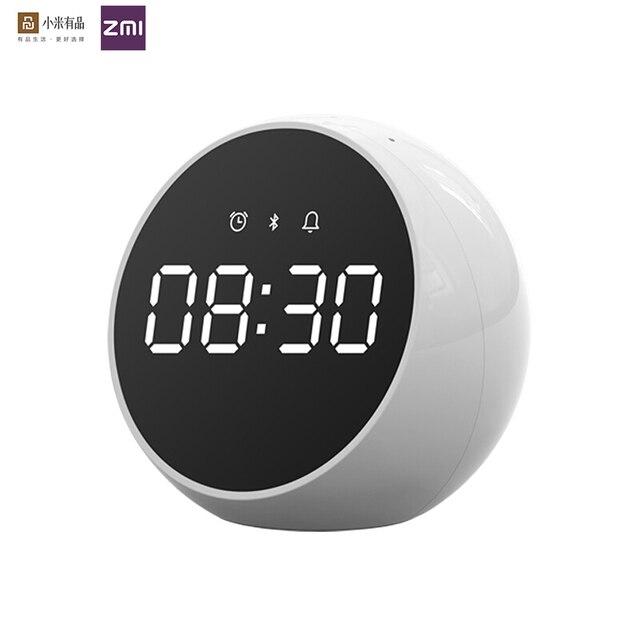 Zmi Bluetooth Radio Wekker Speaker Alarm Speaker Voice Control Digitale Stereo Muziek Surround Led Wekker