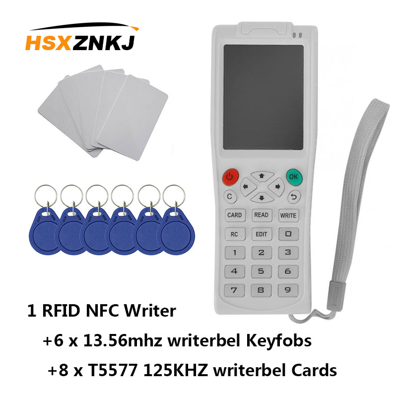 Newest ICopy8 With Full Decode Function Smart Card Key Machine RFID Copie/Reader/Writer Duplicator