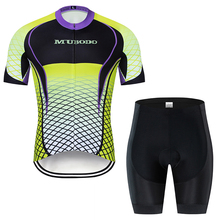 New Brand 2019 Cycling Clothing Men Cycling Set Bike Clothing Breathable Anti-UV Bicycle Wear/Short Sleeve Cycling Jersey Sets utter armour a2 one piece black and green cycling jersey set anti uv men triathlon suit sleeveless cycling clothing bicycle wear