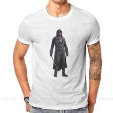 Legenda Altair Ibn La ahave Chiffon magliette più recenti Assassin's Creed Action Adventure giochi uomo stile tessuto top T Shirt O Neck