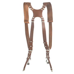Image 5 - Camera Strap Leather Double Shoulder Strap  Harness Camera Shoulder Strap Photography Accessories