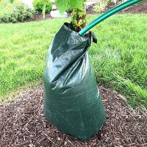 20 галлонов Портативный Медленно высвобождающий мешок для полива дерева капель мешок для орошения он может заполнить 20 галлонов воды и он мо...