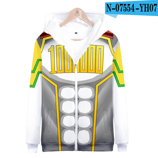 My hero academia hoodies izuku midoriya shouto todoroki boku no hero academia Cosplay Costume Sweatshirt boys girl Zipper Jacket 20