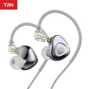 Image 1 - 2021 TRN BA15 30BA HIFI หูฟัง Balanced Armature In Ear หูฟังโลหะ Monitor ชุดหูฟังหูฟังหูฟัง TRN BA8 VX TA1