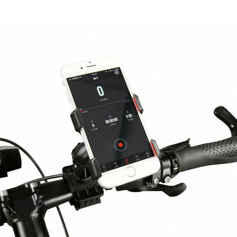 Universal <font><b>Bicycle</b></font> Phone <font><b>Holder</b></font> <font><b>Smartphone</b></font> Adjustable Motorcycle Phone GPS Stand Bracket FH99 image