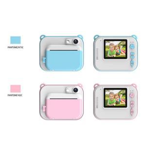 Image 5 - HitTime 2 Mini DIY بها بنفسك لحظة الحرارية طباعة كاميرا رقمية تلقائيا طباعة الصور 8MP التعليمية الأطفال كاميرا الاطفال اللعب