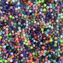 1000pcs 6mm Big Ball Balls Replacement Nose Barbell Earring Tongue Eyebrow Ring Body Piercing Jewelry