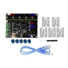 цена на Mks-Gen L V1.0 Integrated Controller Mainboard + 5Pcs Tmc2208 V1.0 Stepper Motor Driver Compatible Ramps1.4/Mega2560 R3 for 3D