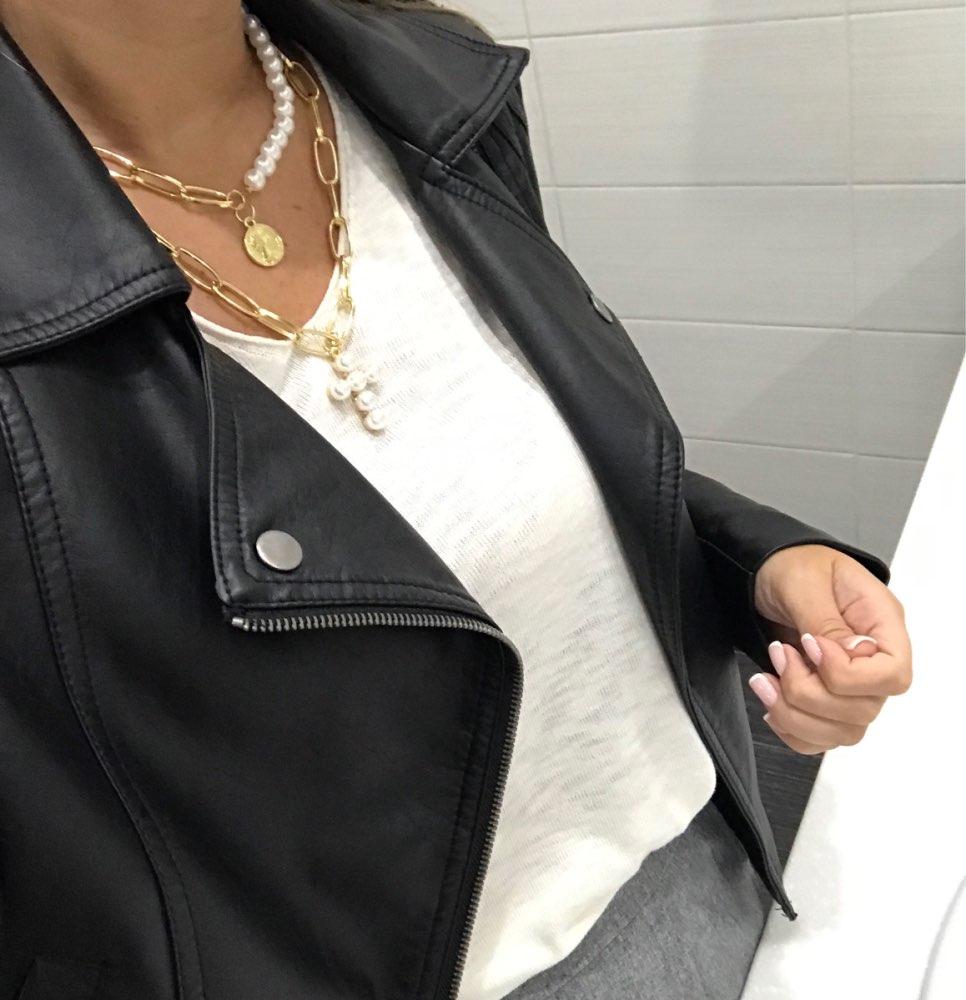 17 км винтажная Золотая монета с портретом, жемчужное ожерелье с подвеской s для женщин, богемное Модное Длинное Ожерелье из муклтилятора с жемчугом, ювелирное изделие