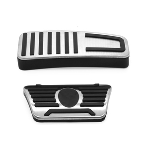 Image 3 - Car For Maserati Ghibli Levante Quattroporte Gas Fuel Brake Footrest Pedal Plate Pad Cover Stainless Steel 2014 2015 2016 2017