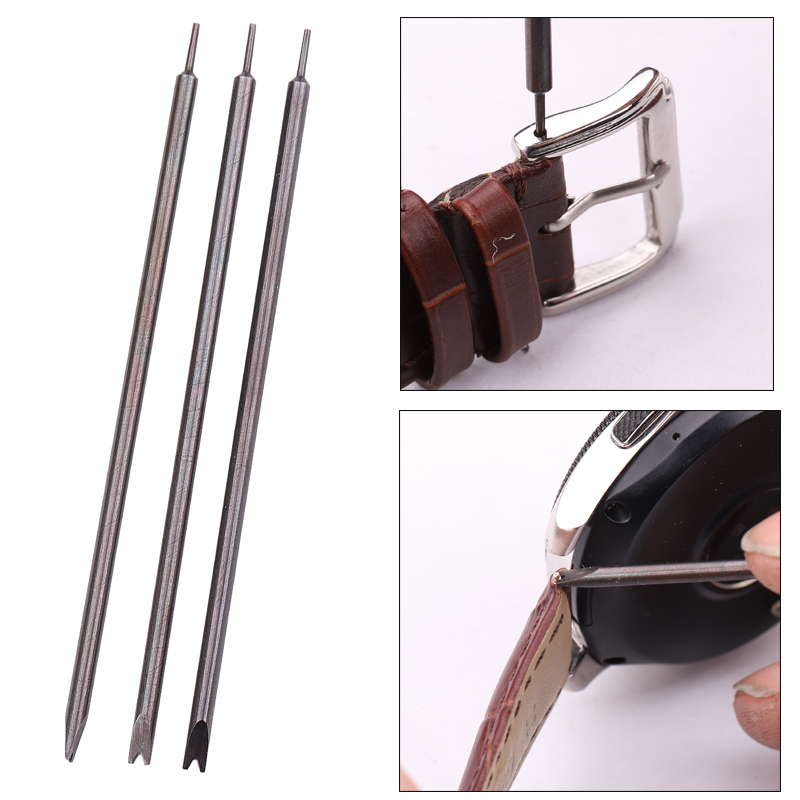 Watch Band Repair Tools Bracelet Watchband Opener Strap Replace Spring Bar Connecting Pin Remover Tool Black Metal