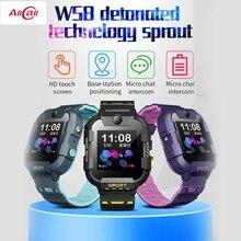 AllCall W58 Kinder Smart Uhr GPS Tracker 4G SIM Karte Video Anruf mit Licht Kamera SOS IP67 Wasserdichte Smartwatch für Mädchen Jungen