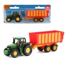 Siku сплав трактор грузовик игрушка мусорные грузовики транспорт строительная машина развивающие автомобили игрушки для детей Коллекция