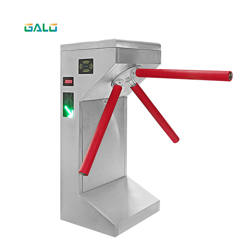 Semi-automatic ESD Gate Rotation Mechanism For Access Control System RS485 TCP / IP Electromagnetic Gate For Access Control