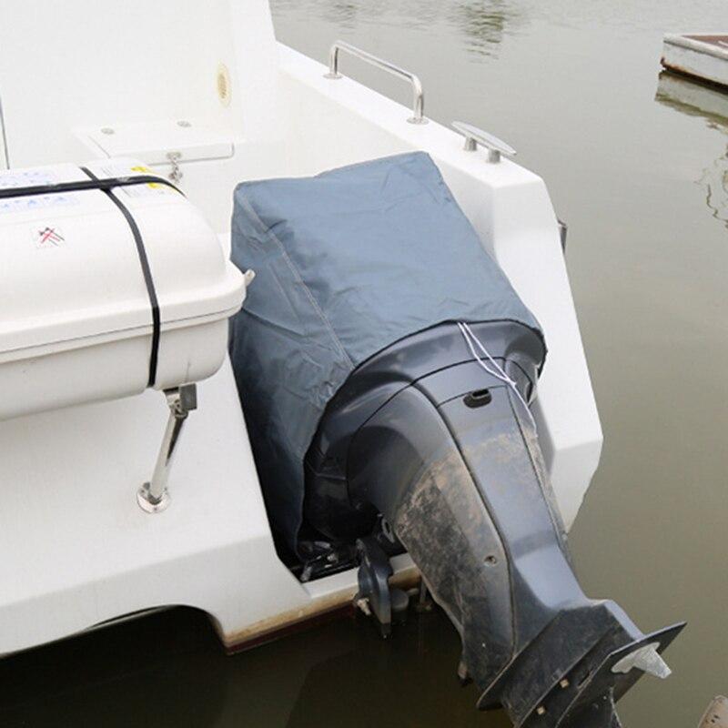 6-15HP paletur0 Completo Motor Cubierta Accesorios Resistente Lluvia Abrigo Motor Protector Impermeable Refugio Exterior Fueraborda Barco Antiheridas a Prueba de Polvo Oxford Pa/ño Port/átil