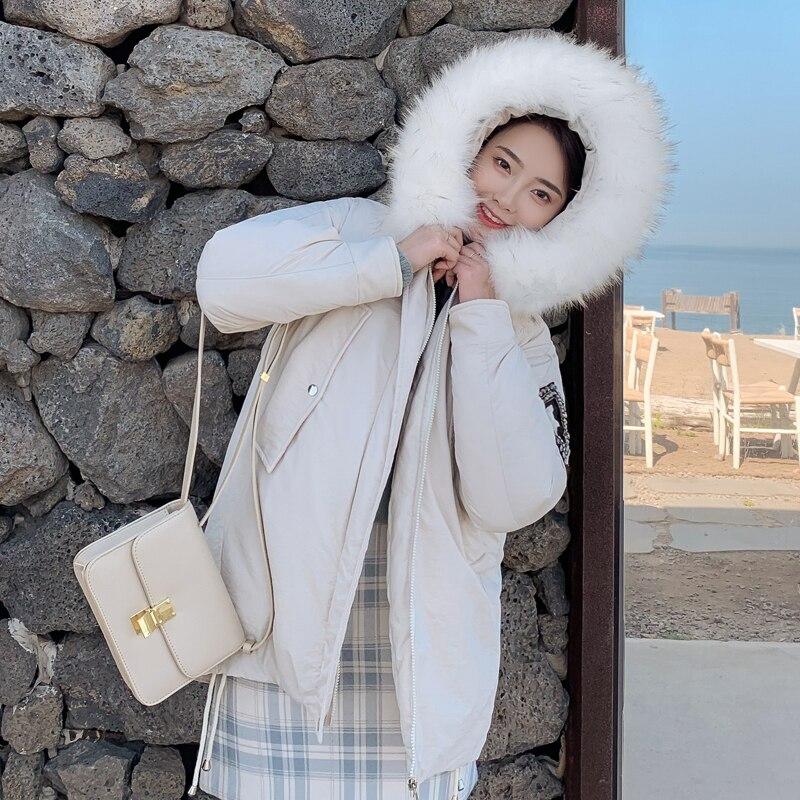 New Arrival 2019 Winter Jacket Women Cotton Padded Outwear Female Coat_A4_5