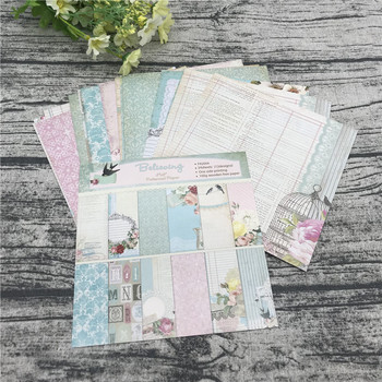 "24 sheets 6""X6""The Swallow Pattern Creative Scrapbooking paper pack handmade craft paper craft Background pad 1"