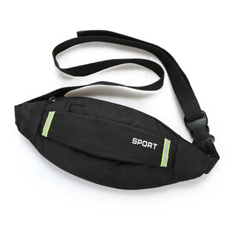 Men Women Running Waist Bag Sport Pack Cycling Bag Belt Fanny Waist Pouch Outdoor Travel Racing Hiking Gym Fitness Money Purse