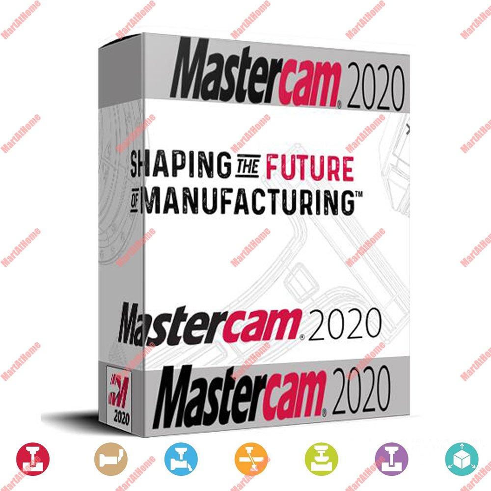 Программное обеспечение Mastercam 2019 2020 с ЧПУ пожизненное неограниченное использование Поддержка Windows 7, 8, 10 64 бит