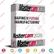 Mastercam 2019 2020 vida útil do software cnc suporte ilimitado windows 7, 8, 10 64bits