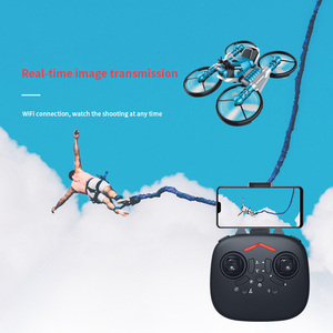 Image 5 - NEW drone with camera 2.4G remote control Helicopter deformation motorcycle folding four axis aircraft rc Quadcopter toy for kid