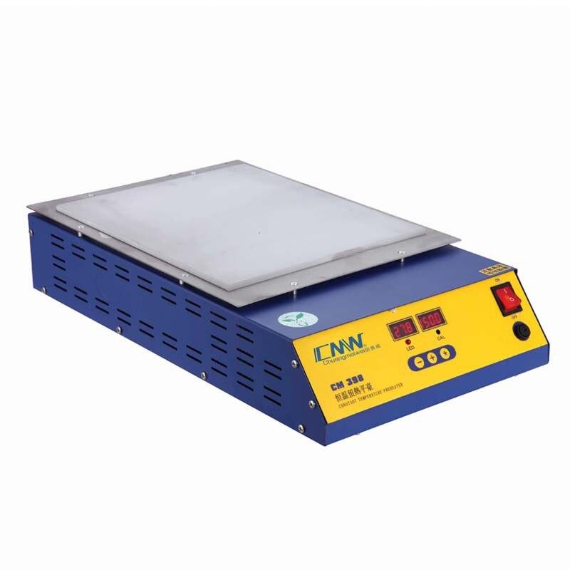 CM Lead Free PCB Soldering Constant Temperature Preheater Digital Display Precise Control Preheating Station 0-400C 220V 110V