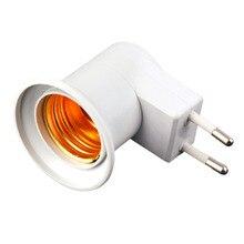 E27 профессиональная супер легкая лампа, настенная розетка E27, цоколь лампы, США/ЕС, розетка с выключателем питания