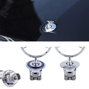 3D цинковый сплав, автомобильная передняя крышка, эмблема капота, этикетка, значок для Mercedes Benz W204 W210 W220 W212 C180 C200 C200, автомобильные аксессуары
