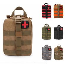 Тактическая Аварийная сумка для первой помощи Molle медицинская сумка Duable утилита EDC аксессуар поясная сумка страйкбол охотничья Сумка оборудование