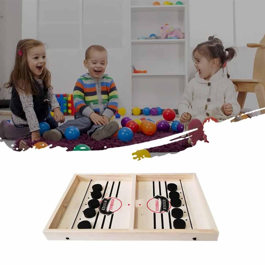 1 مجموعة سريع حبال عفريت لعبة الخطى SlingPuck الفائز مجلس اللعب الأسرة ألعاب ل الطفل سطح المكتب معركة هوكي الجليد