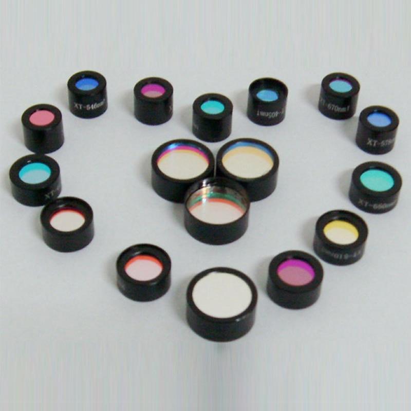 260nm filtre à bande étroite ultraviolet filtre de couleur Uv revêtement de traitement de verre optique professionnel