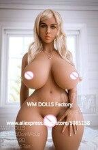 WMDOLL Top Quality 150 centímetros M copo TPE Silicone Bonecas Do Sexo Realista Boneca do Amor Real Peito Grande Bunda Enorme Adulto bonecas sensuais Para Homens