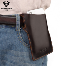 2020 Men Waist Belt Bag Small Cell Phone Bag for tellphone Leather Leg Running Male Fanny Pack Personal Pocket Handbag