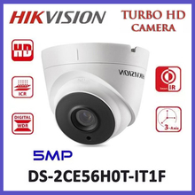 HIKVISION International Version DS-2CE56H0T-IT3F Turbo HD 5MP IR Dome Camera Switchable TVI/AHD/CVI/CVB IP67 Waterproof Camera