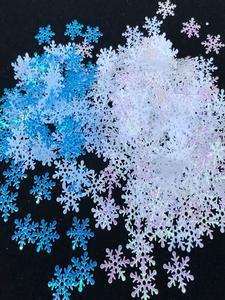 Artificial-Snowflakes-Decor Christmas-Decorations Frozen Noel Home-Party New-Year 200/300pcs