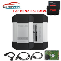 2019 VXDIAG C6 OBD2 Diagnostic Tool for Benz For Mercedes car truck STAR C4 C5 Scanners With 500G HDD Wireless DOIP&AUDIO VCX C6
