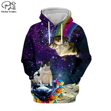 PLstar Cosmos Animal Cat Art Cartoon Harajuku Tracksuit 3D Print Hoodie/Sweatshirt/Jacket/shirts Men Women hiphop casual style-5