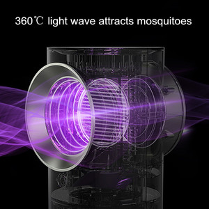 Image 5 - Free_on Electric Shock Mosquito Killer Lamp No Noise No Radiation Insect Killer Flies Trap  Anti Mosquito LED Trap For Bedroom