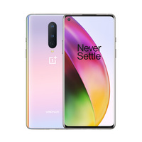 New Oneplus 8 6.55 8/12GB RAM 128/256GB ROM 5G Mobile Phone Snapdragon 865 Octa Core 48MP Camera Android 10.0 NFC Smart Phone