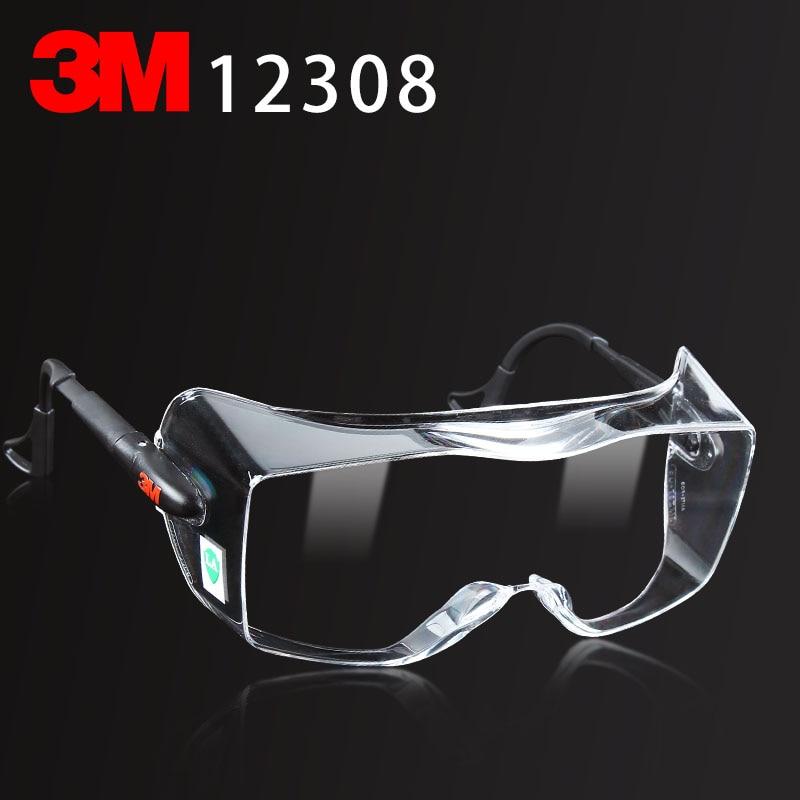 Многофункциональные очки 3M 12308, оригинальные защитные очки 3M, можно носить очки для близорукости, защитные очки